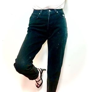 VINTAGE Harley Davidson High Waist Straight Jeans